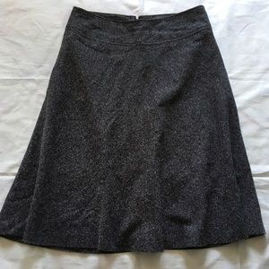 Jones Wear gray midi skirt size 8
